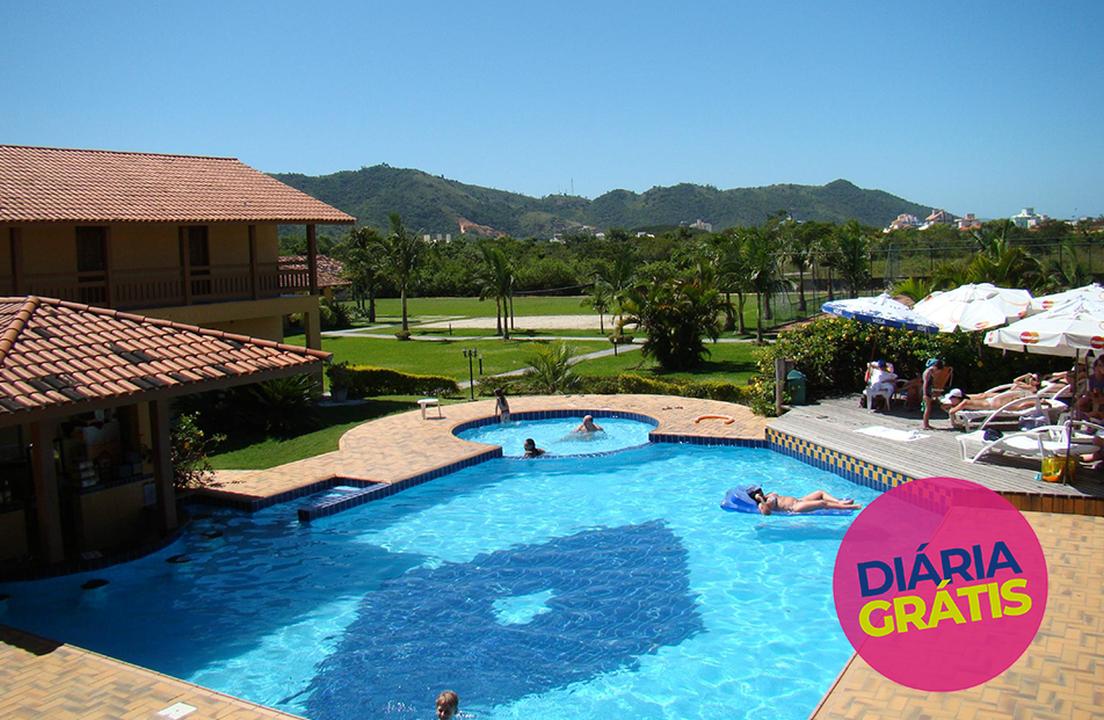 Águas de Palmas Resort - Pague 4 e Leve 5 Diárias