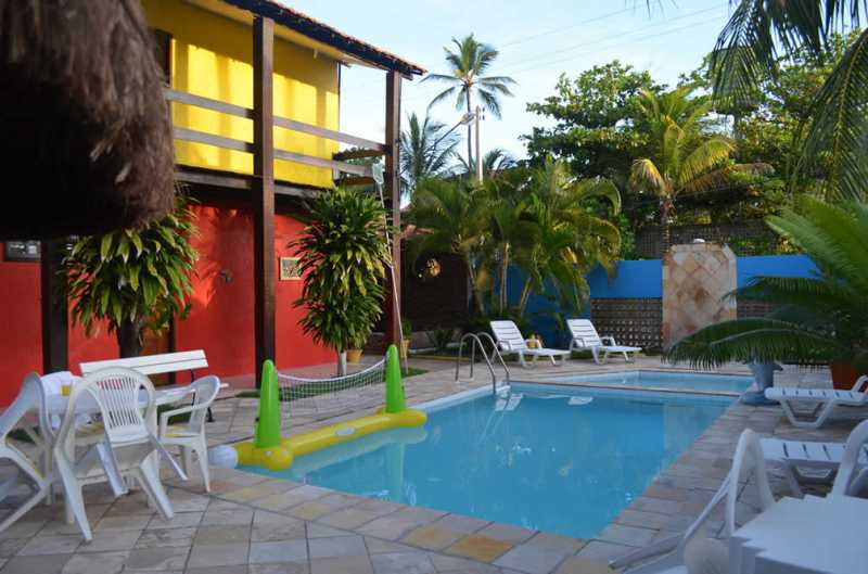 Pousada with swimming pool and free of charge for a child up to 5 years