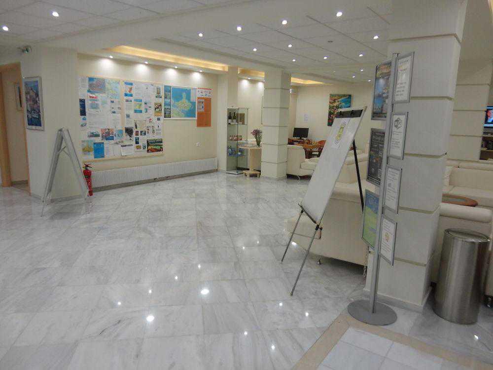 Vista do lobby