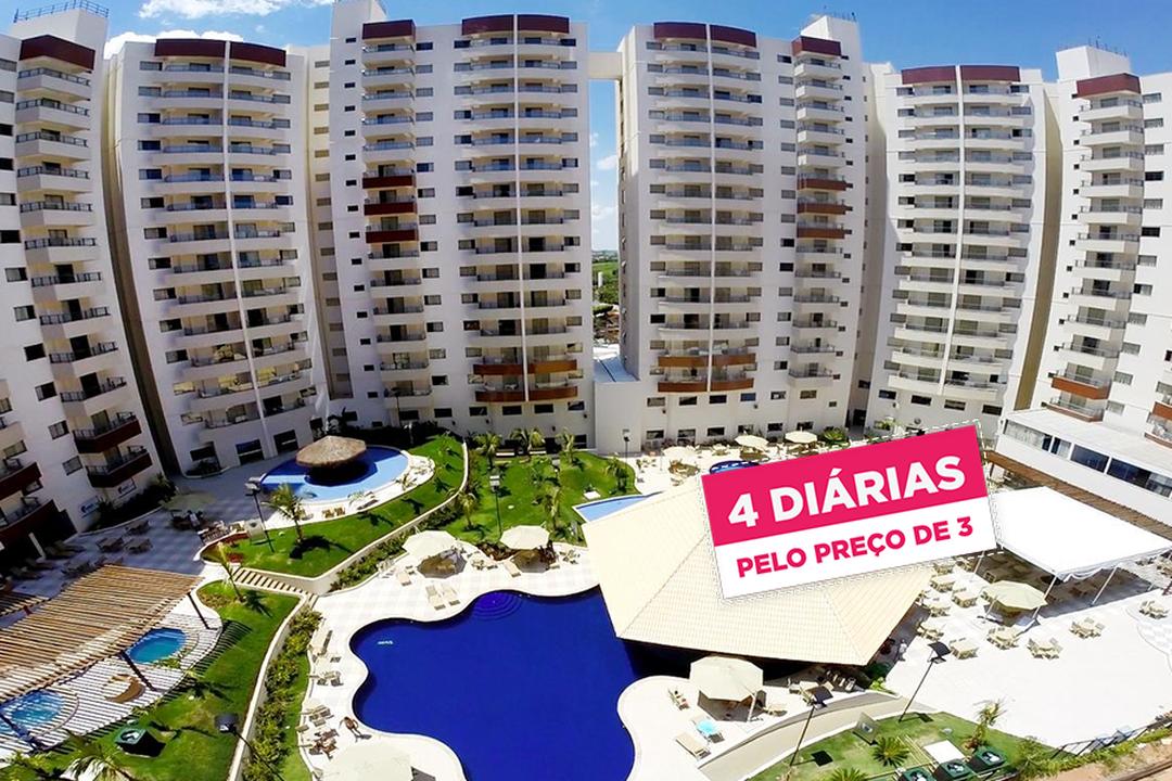 Royal Thermas Resort & Spa: Pague 3 Leve 4 Diárias