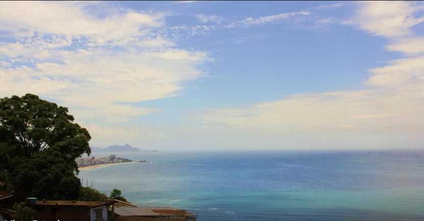 Vista do Hostel Sol e Mar
