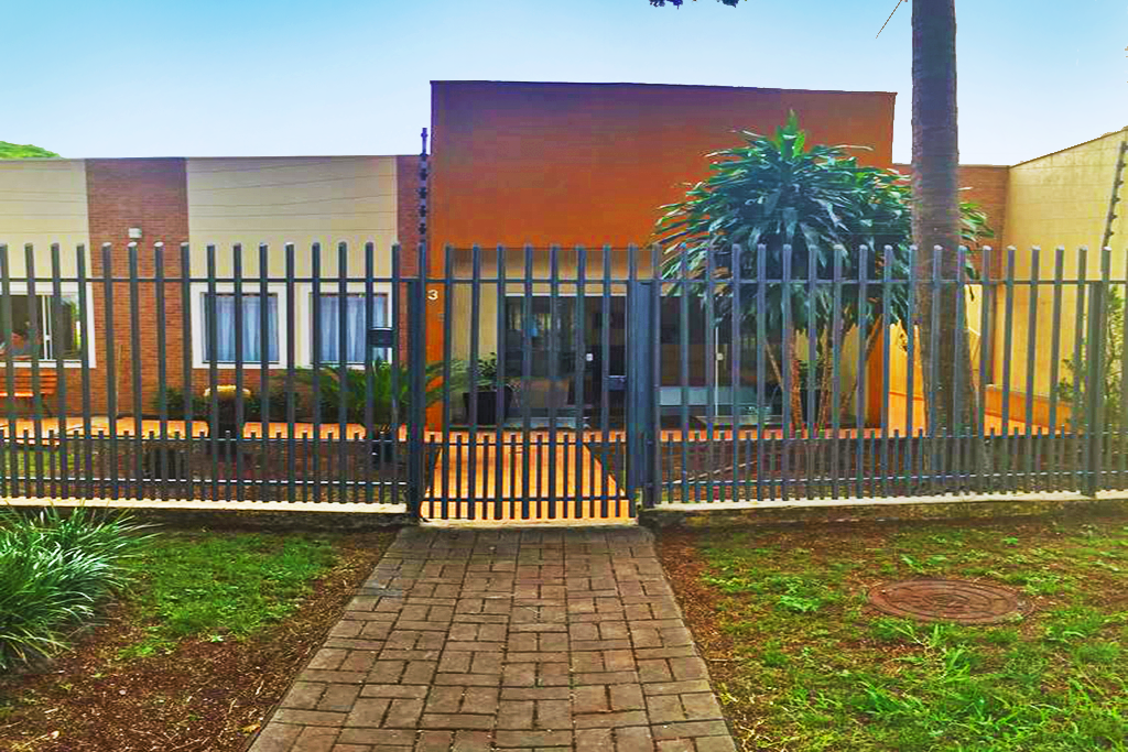 entrada da propriedade