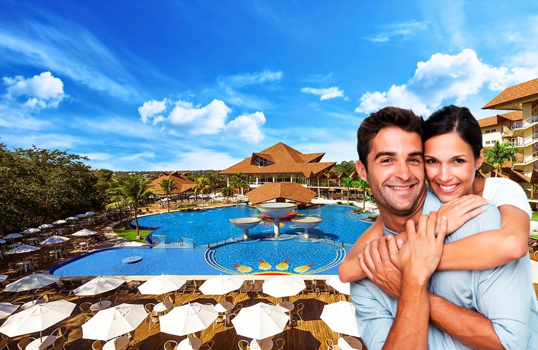 Recanto Cataratas Thermas Resort - Romântico: Opção de 2 ou 3 Diárias p/ 2 Pesso