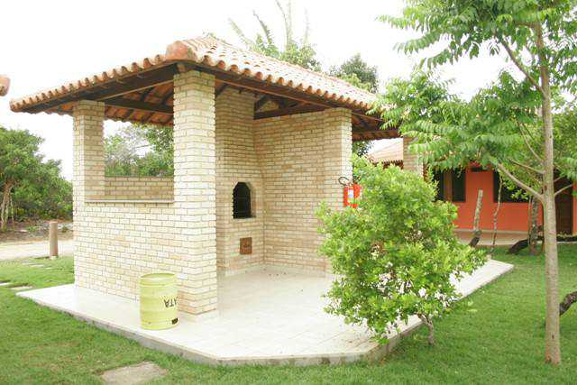 Barbecue area for lovers of good meat! Hotel Residencial do Mirante!