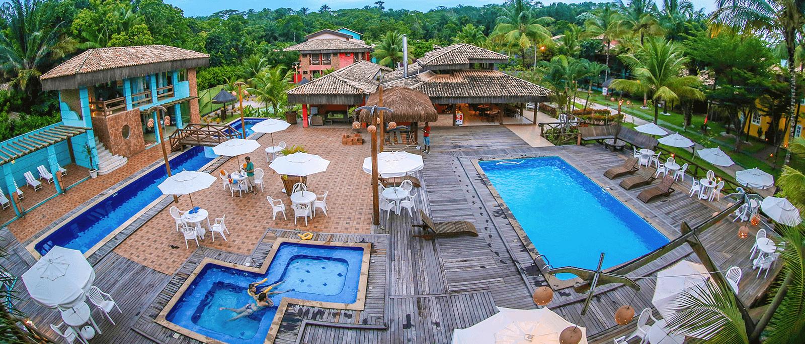 Hotel de charme em meio à natureza e com gratuidade para 2 crianças de até 11 anos.