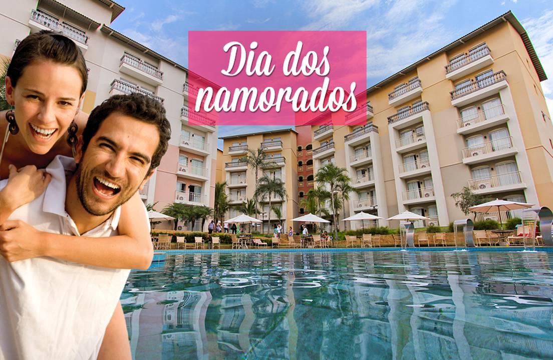 Thermas de Olímpia Resort: Dia dos Namorados - 2 Diárias p/ 2 Pessoas