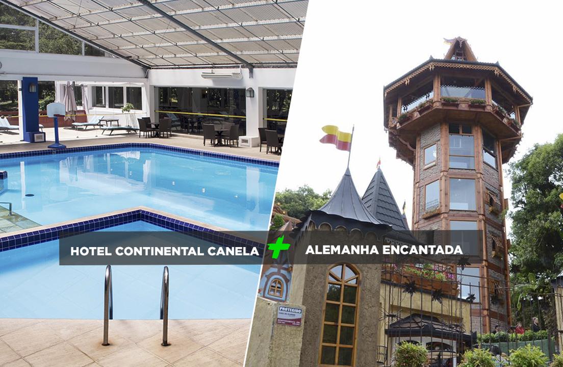 Hotel Encantos Canela com Visitação àAlemanha Encantada