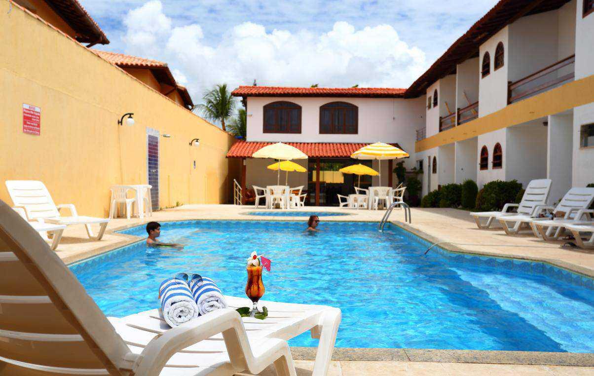 Hotel próximo ao Centro de Porto Seguro.